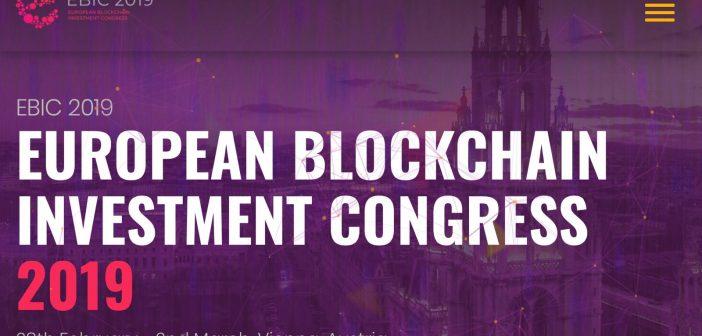 Europa Blockchain kongres 2019 spaja profesionalce, investitore i startupove u Beču