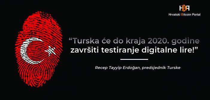 Turska do kraja 2020. godine završava testiranje digitalne lire