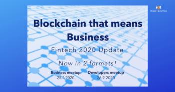 "Posjetite meetup ""Blockchain that means business""!"
