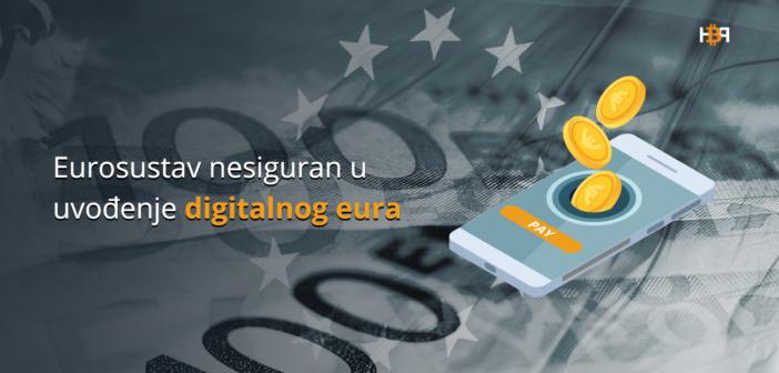 Digitalni euro neće biti zamjena za gotovinu