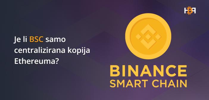 Binance Smart Chain na udaru zbog centraliziranosti validatora